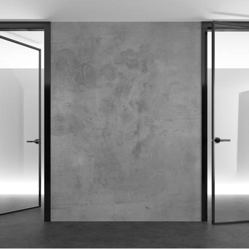 Межкомнатные двери одностворчатые стеклянные лофт
