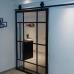 Двери входные Loft style (черном и белом цвете)