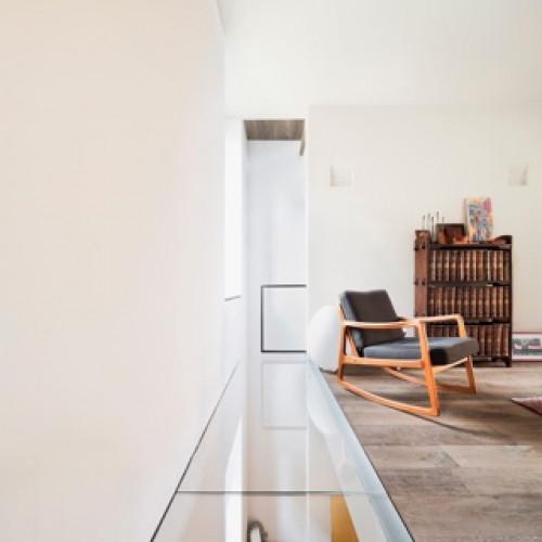 Стеклянные полы в стиле лофт