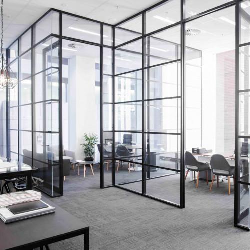 Офисные перегородки лофт, перегородки для зонирования офиса