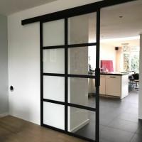 Лофт перегородки для стены из металла (зонирование пространства)