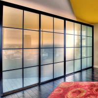 Металлические окно перегородка в стиле лофт